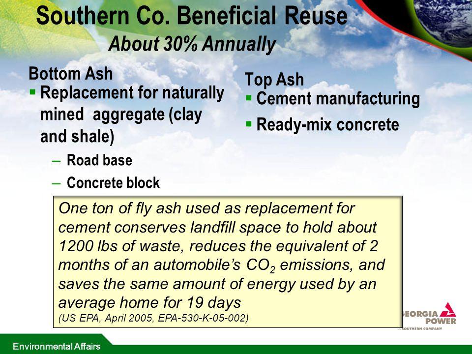 Environmental Affairs Southern Co.