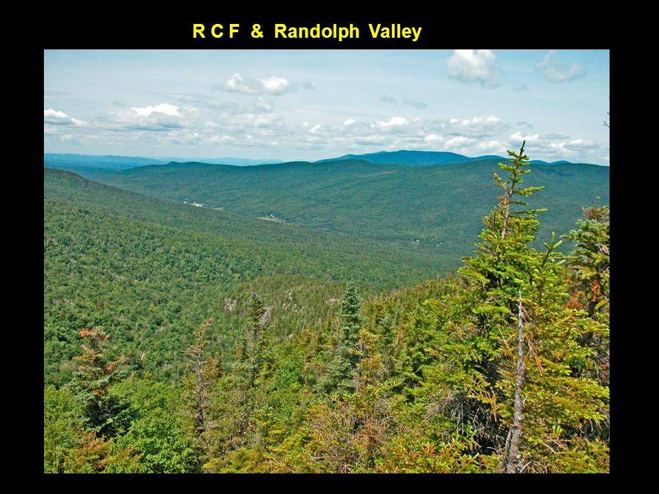 Presidential Range White Mountain National Forest