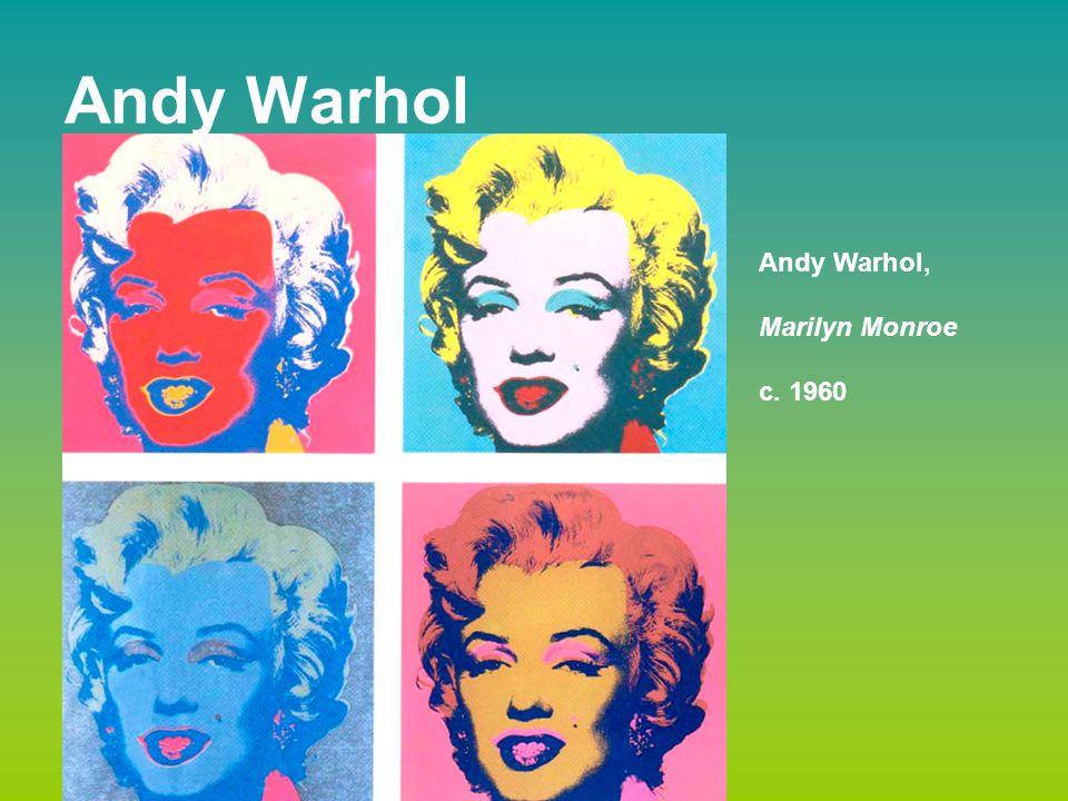 Andy Warhol Andy Warhol, Marilyn Monroe c. 1960