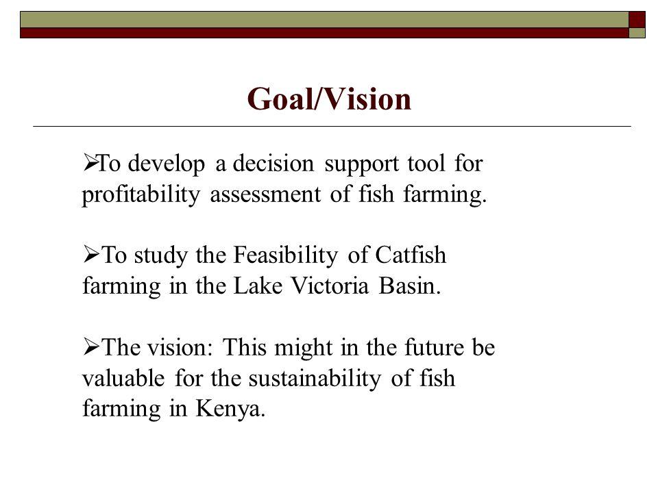 Fish Farming Assumptions