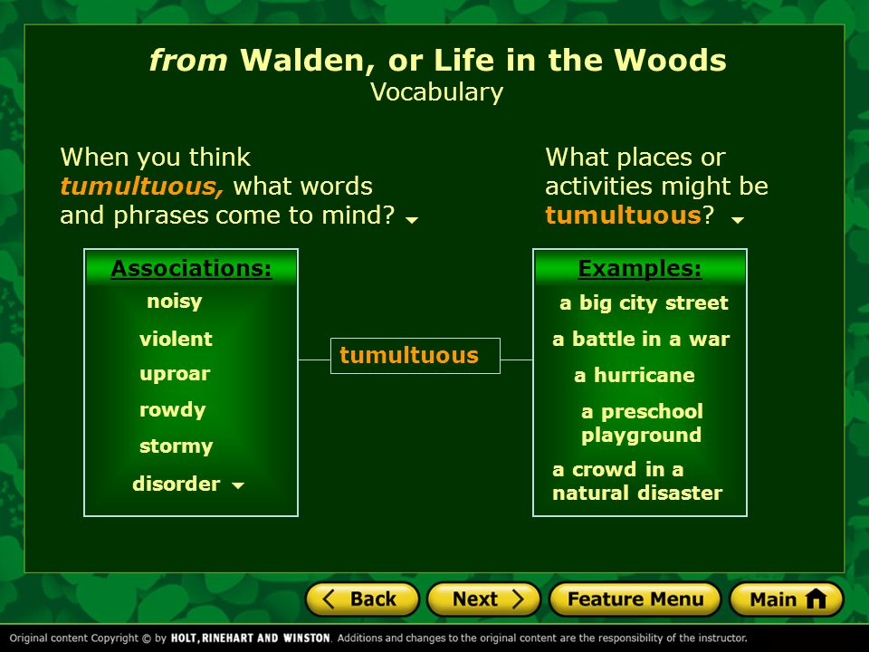 Since he took office a year ago, Mayor Perkins has become the object of much derision. from Walden, or Life in the Woods Vocabulary Mayor Perkins is p