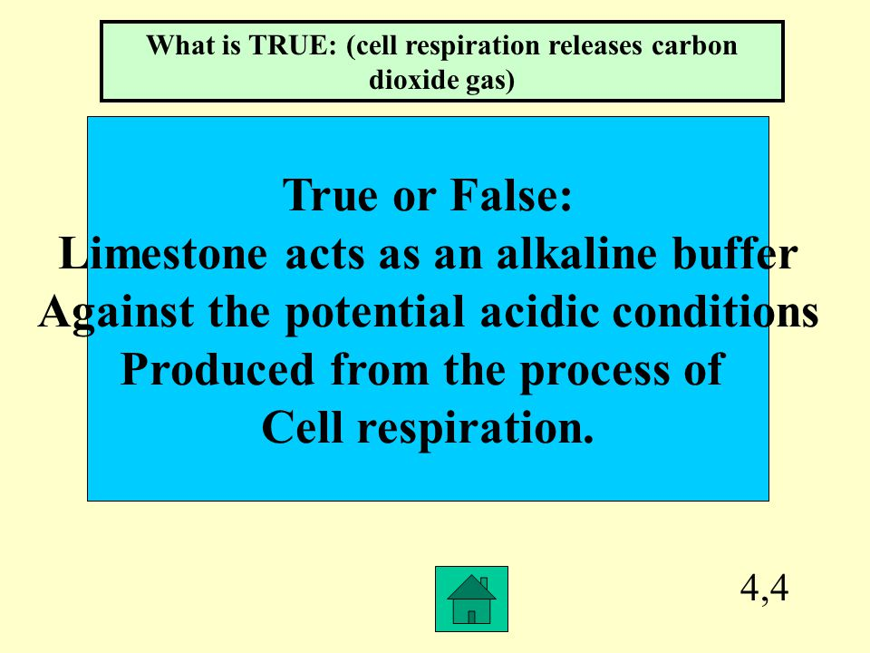 4,3 What type of sediment was mainly Chosen to act as a buffer when dissolved In water.