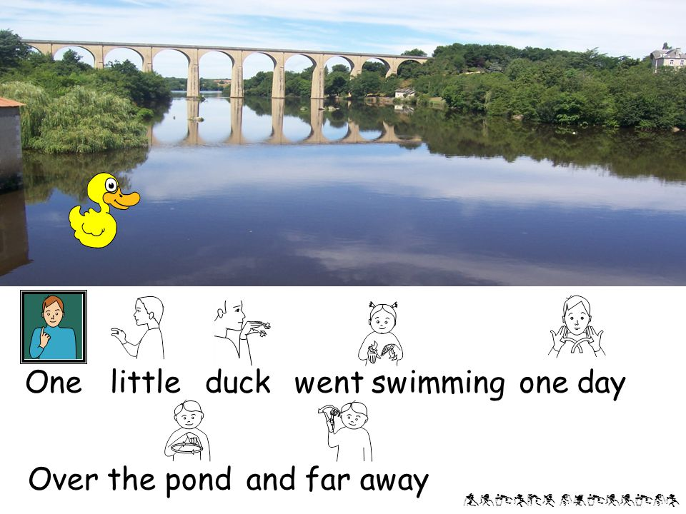 Alison phillips Mother duck said 'Quack,quack, quack!' But only one little duck came back