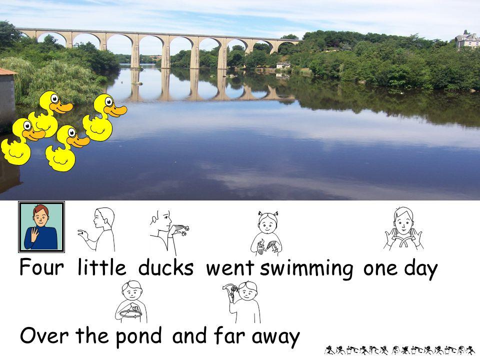 Alison phillips Mother But only four little ducks came back duck said 'Quack,quack, quack!'
