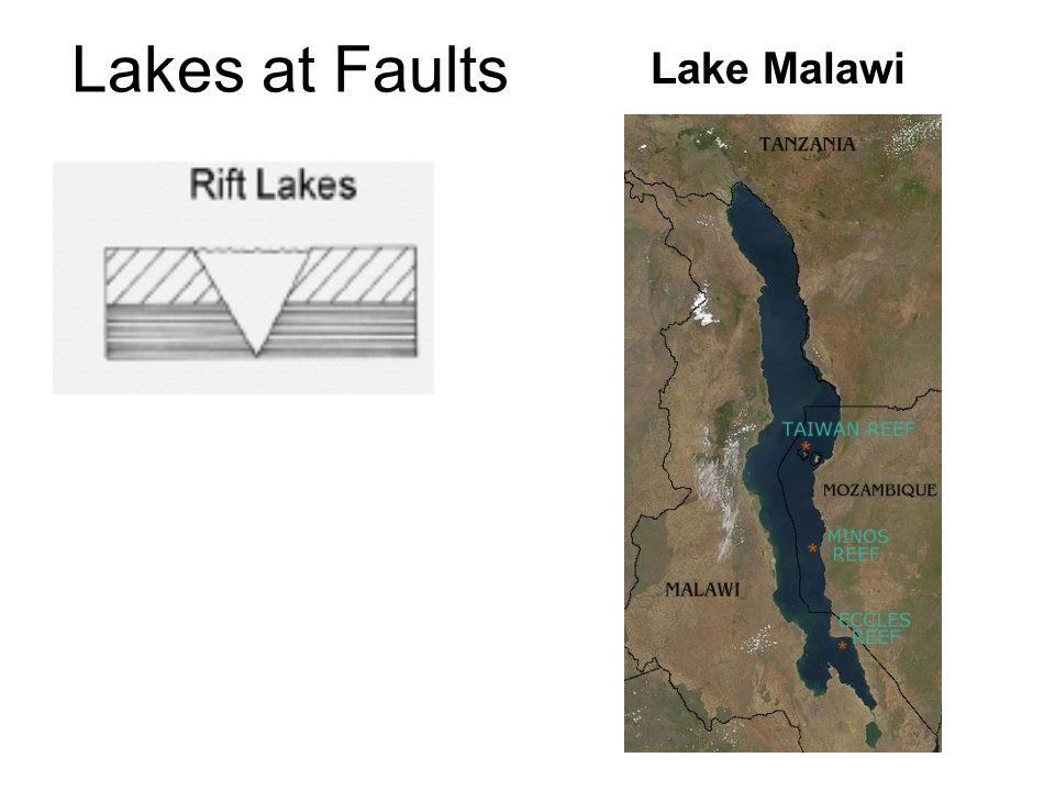 Lakes at Faults Lake Malawi