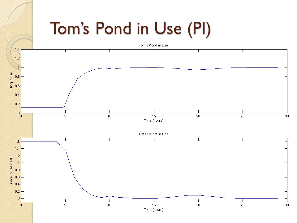 Tom's Pond in Use (PI)