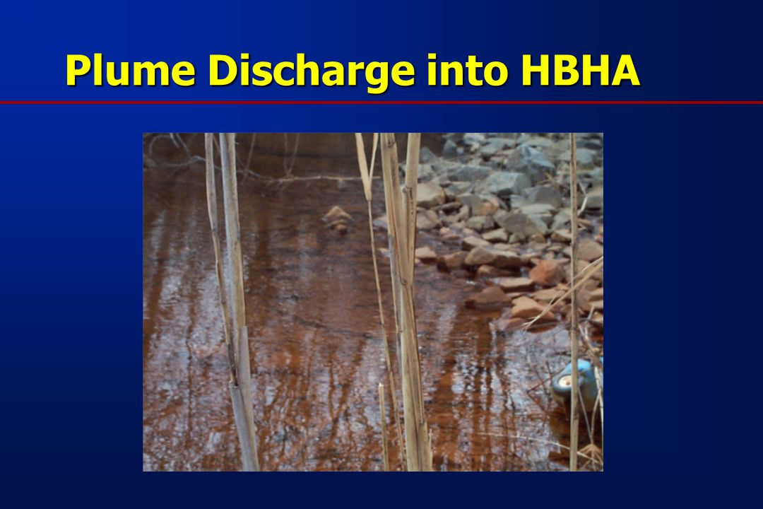 Plume Discharge into HBHA