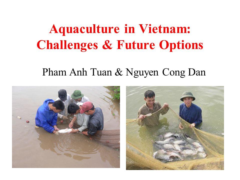 Aquaculture in Vietnam: Challenges & Future Options Pham Anh Tuan & Nguyen Cong Dan
