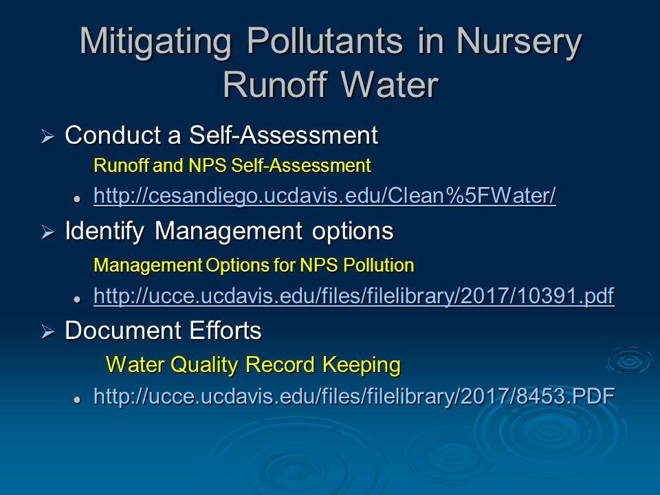 Vegetative Filter  Traps sediment and reduces volume of runoff.
