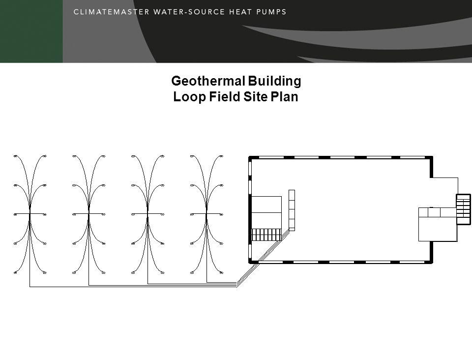 Geothermal Building Loop Field Site Plan