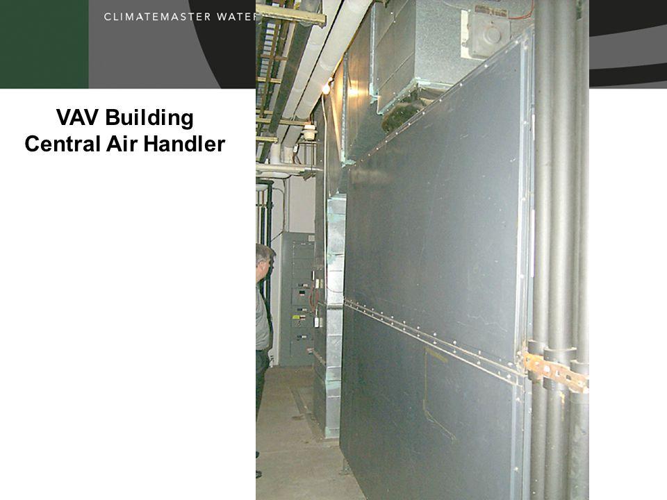 VAV Building Central Air Handler