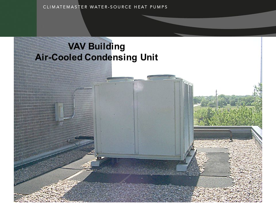 VAV Building Air-Cooled Condensing Unit
