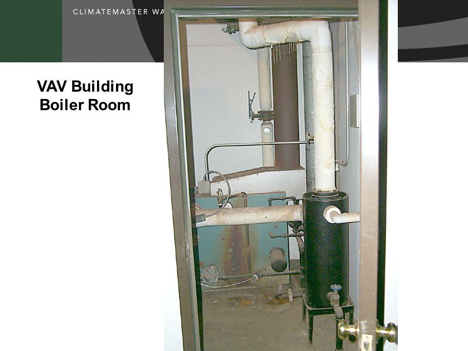 VAV Building Boiler Room