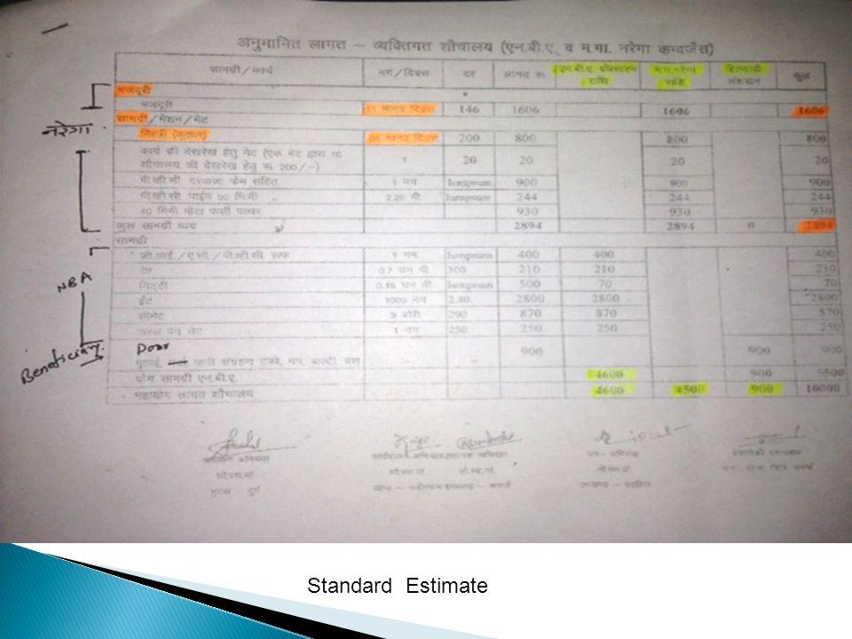 Standard Estimate
