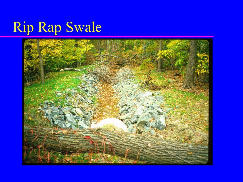 Rip Rap Swale