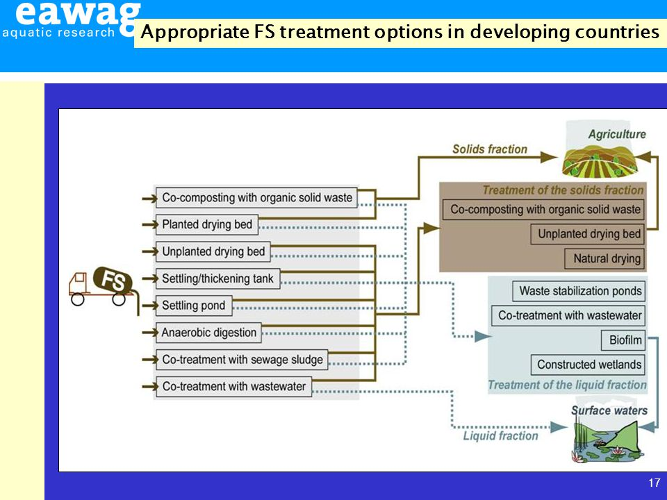 17 Appropriate FS treatment options in developing countries