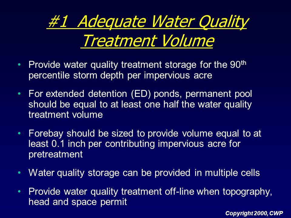 #10 Emergency Spillway Provide emergency spillway for large flood flows.