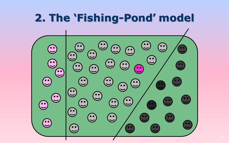 2. The 'Fishing-Pond' model 13