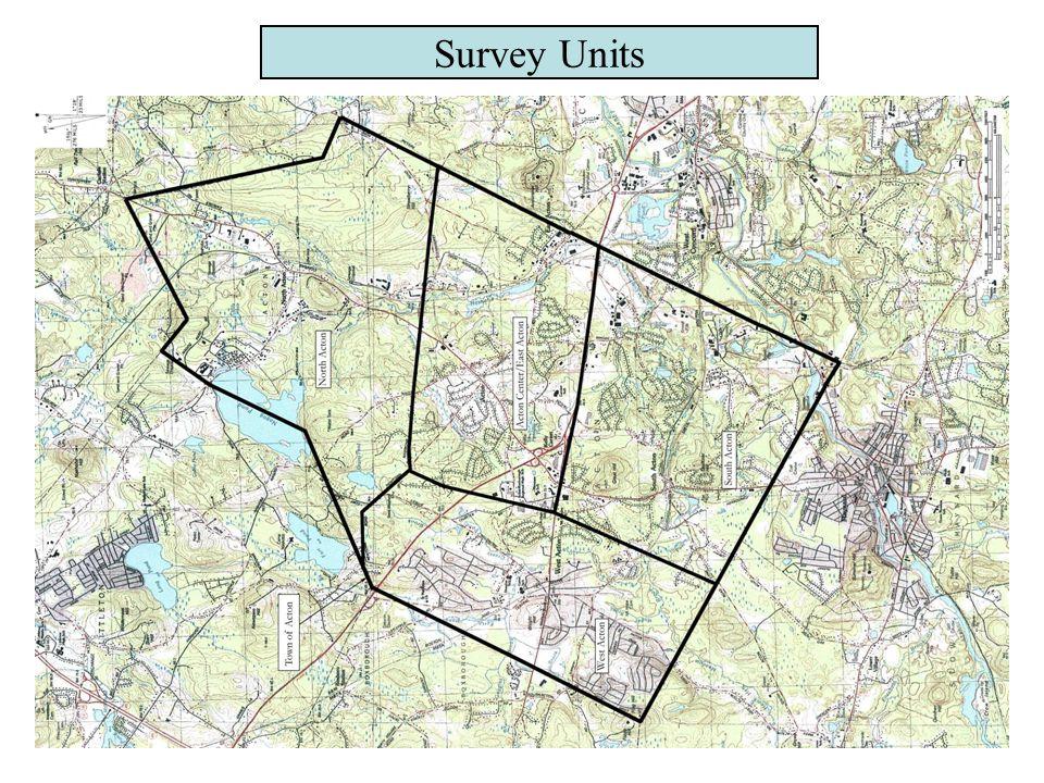 Survey Units