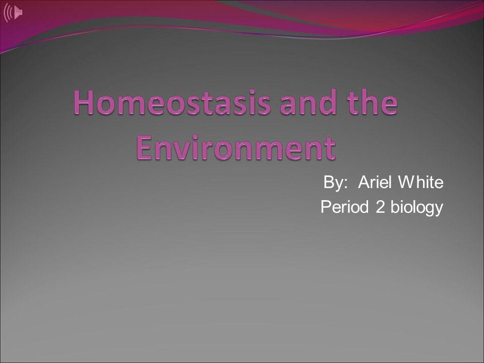 By: Ariel White Period 2 biology