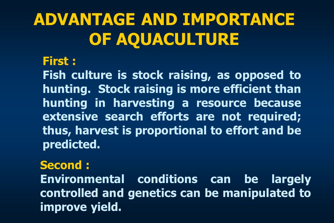 World Aquaculture