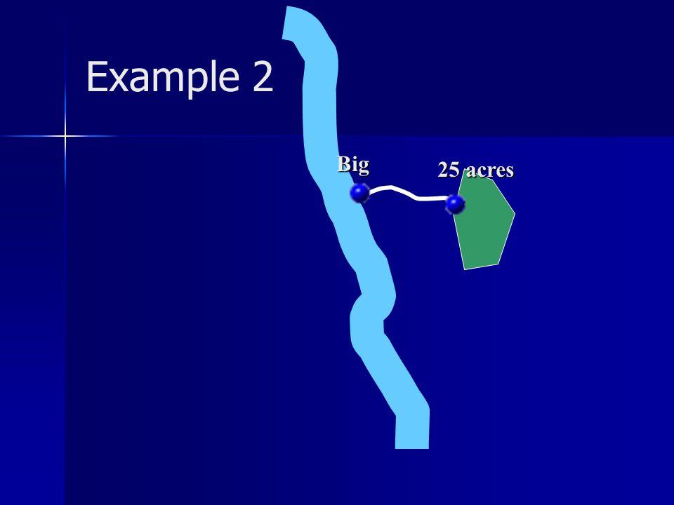 Example 2 25 acres Big