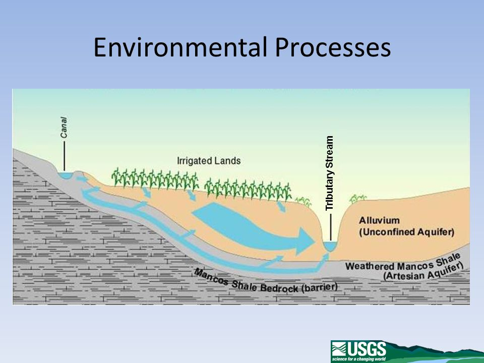 Environmental Processes Tributary Stream