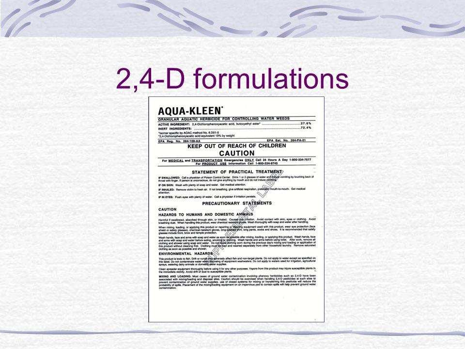 2,4-D formulations
