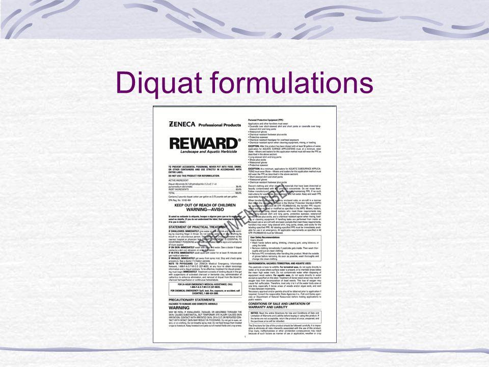Diquat formulations