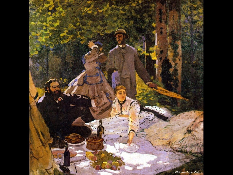 Le déjeuner sur l herbe 1868