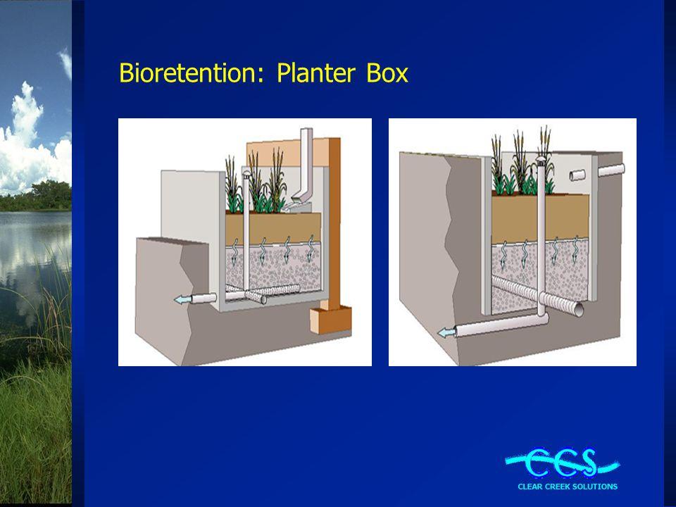 Bioretention: Planter Box