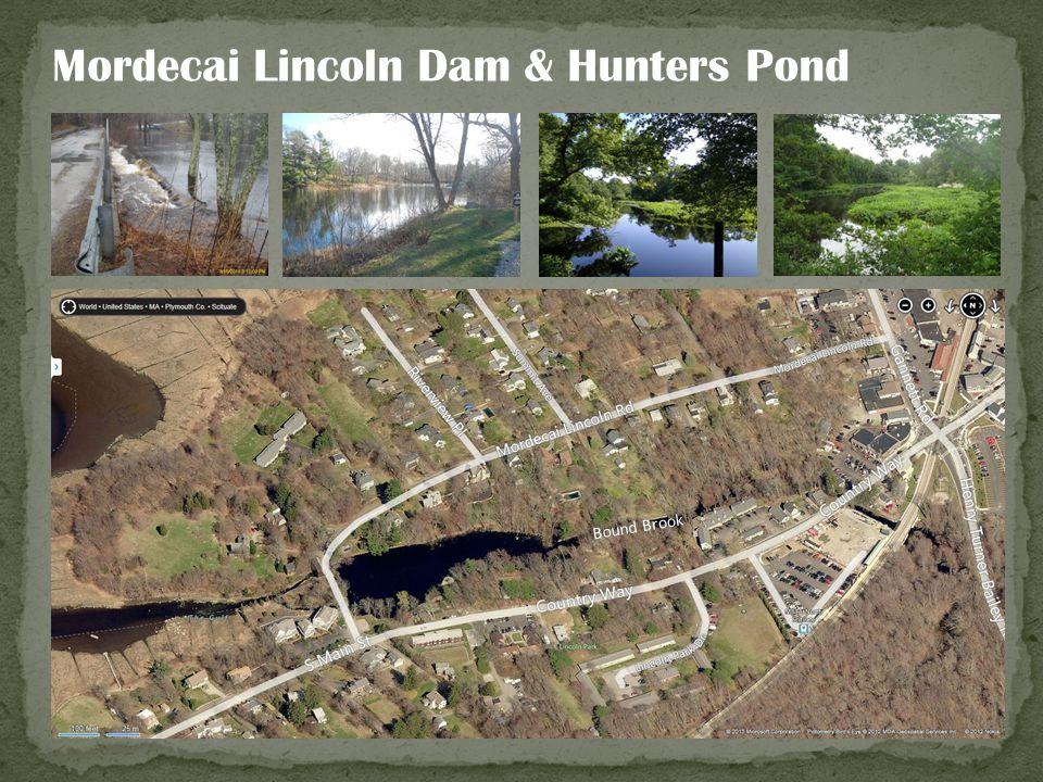 Mordecai Lincoln Dam & Hunters Pond Bound Brook