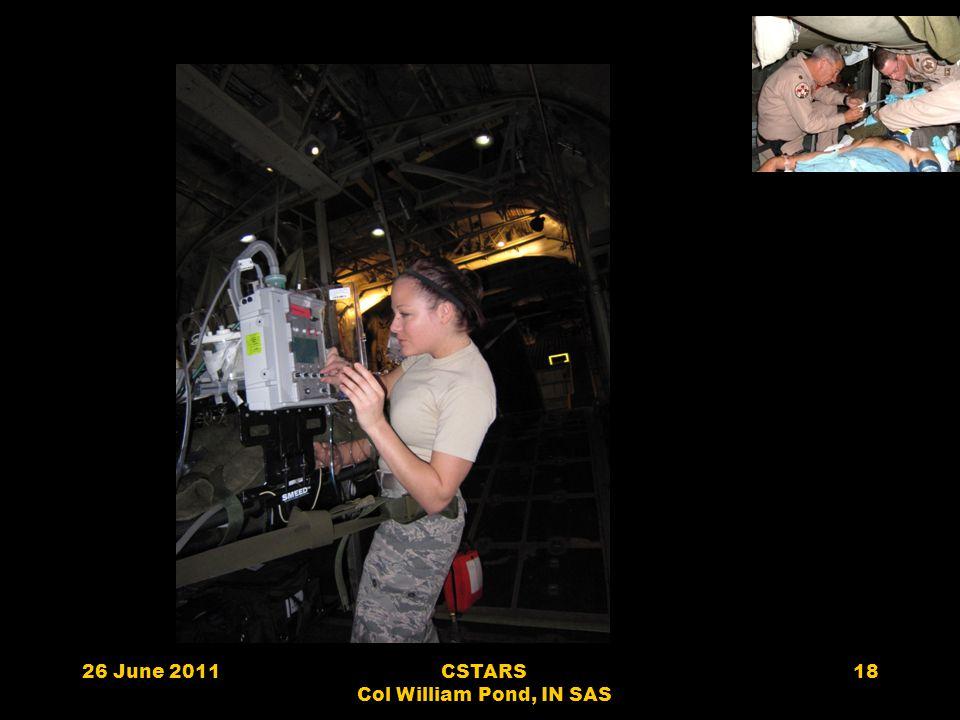 26 June 2011CSTARS Col William Pond, IN SAS 18