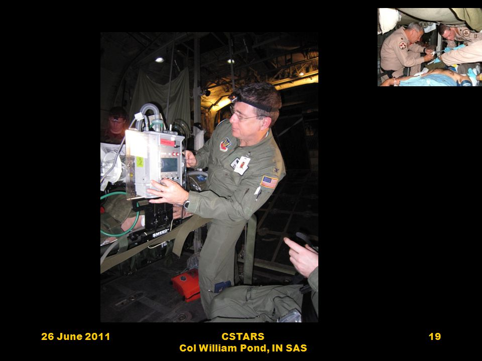 26 June 2011CSTARS Col William Pond, IN SAS 19