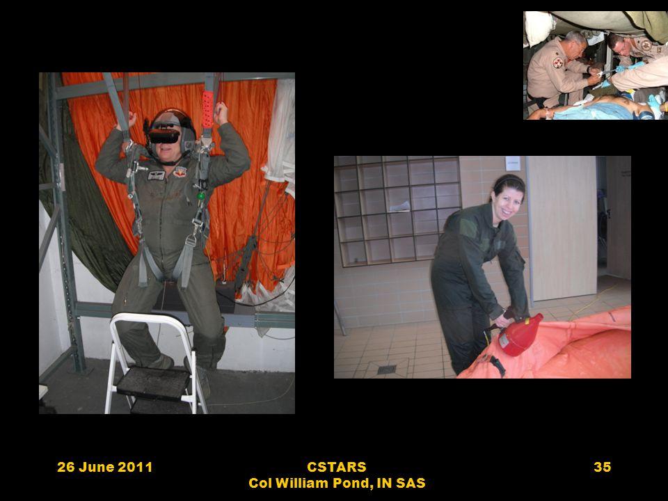 26 June 2011CSTARS Col William Pond, IN SAS 35