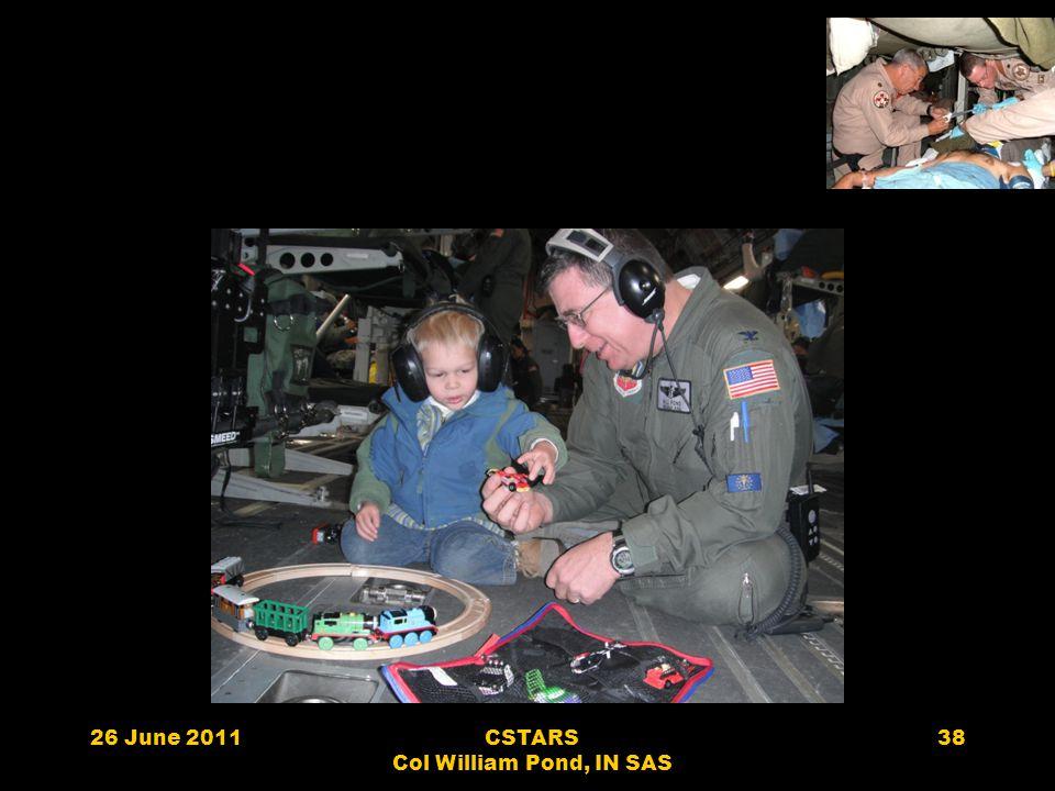 26 June 2011CSTARS Col William Pond, IN SAS 38