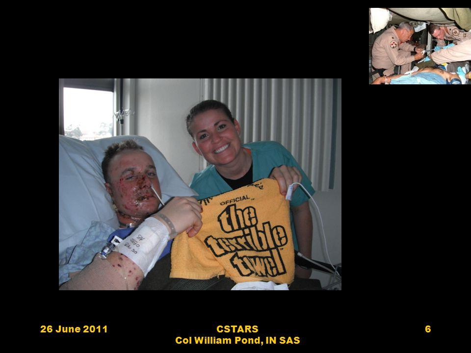 26 June 2011CSTARS Col William Pond, IN SAS 6