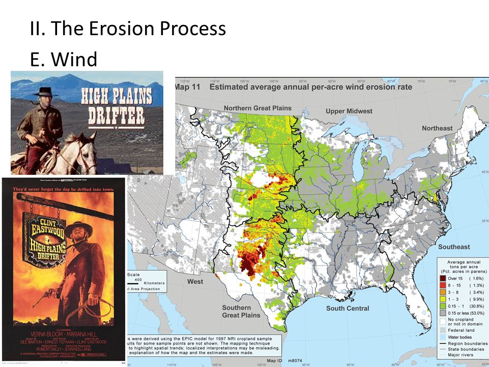 II. The Erosion Process E. Wind