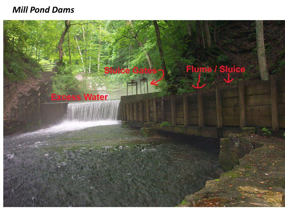 Mill Pond Dams
