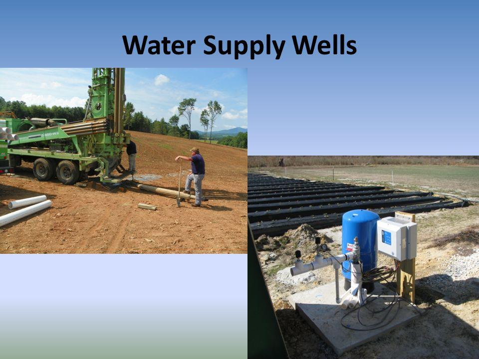 Water Supply Wells