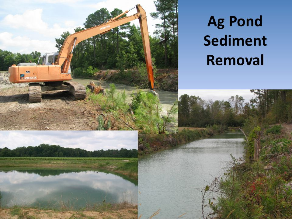 Ag Pond Sediment Removal