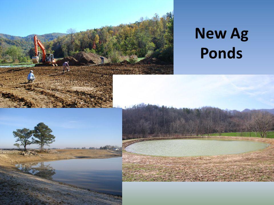 New Ag Ponds