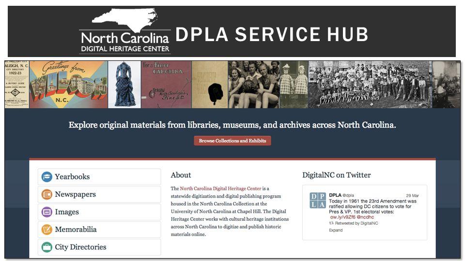 DPLA SERVICE HUB