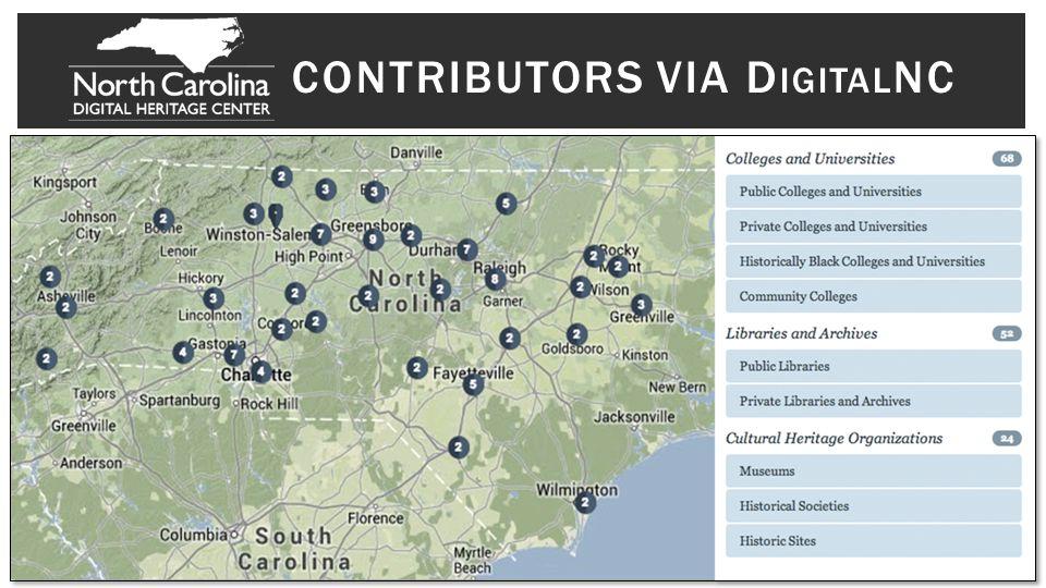 CONTRIBUTORS VIA D IGITAL NC