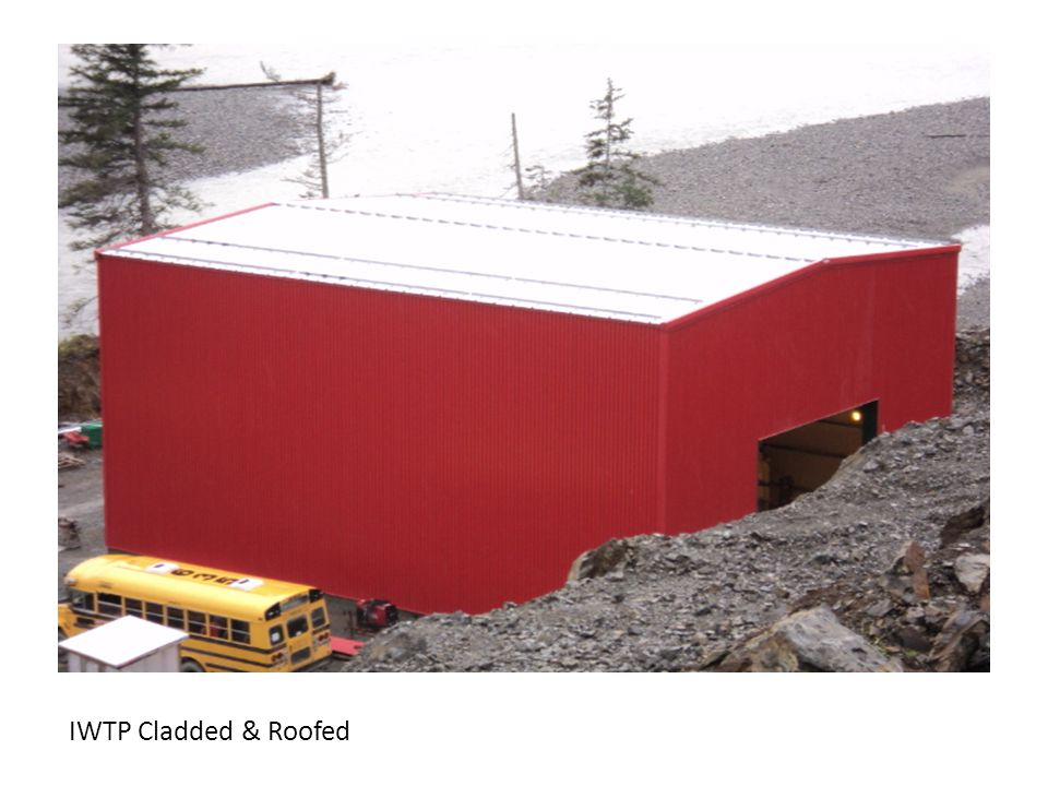 IWTP Cladded & Roofed