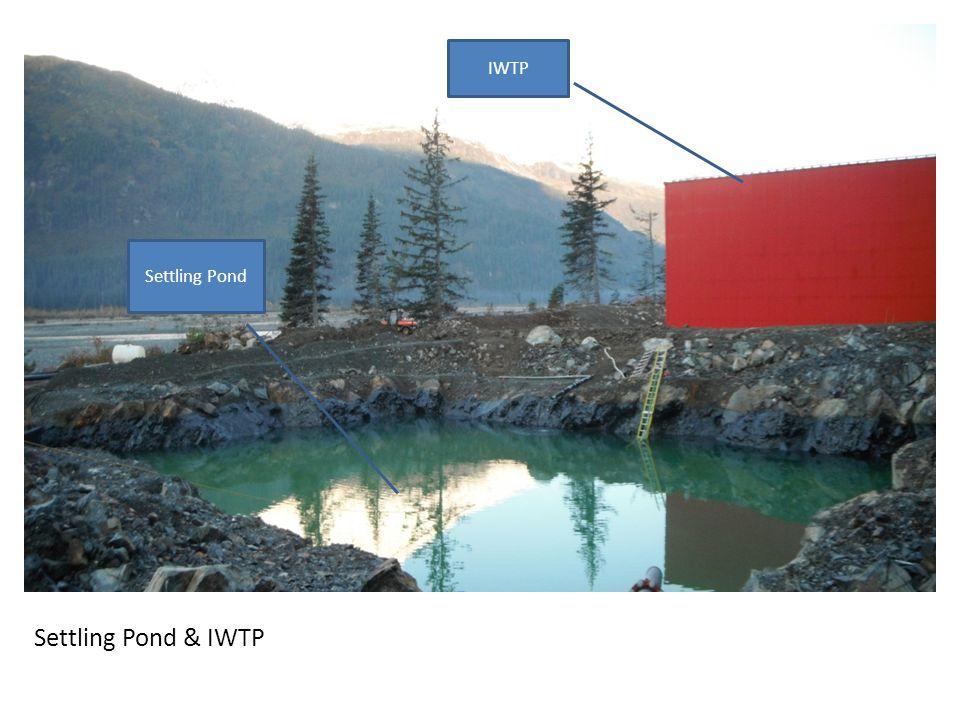 Settling Pond & IWTP IWTP Settling Pond