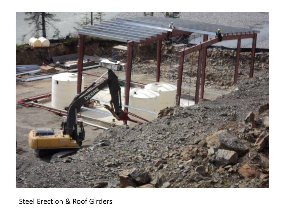 Steel Erection & Roof Girders