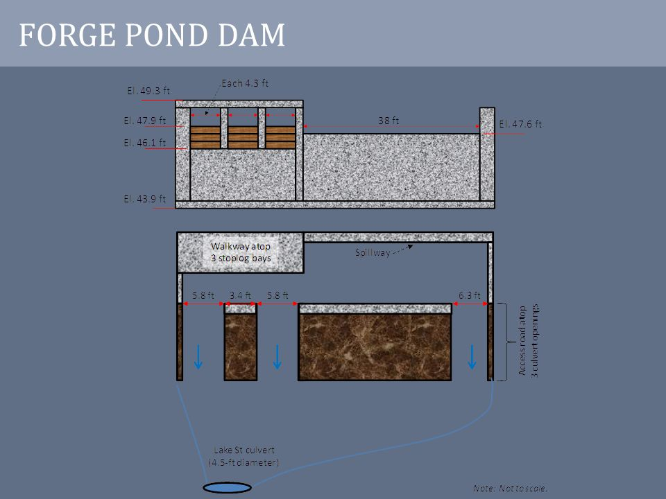 DAM REMOVAL CONSIDERATIONS Water Supply Sediment Infrastructure Wetlands Historical Resources etc.