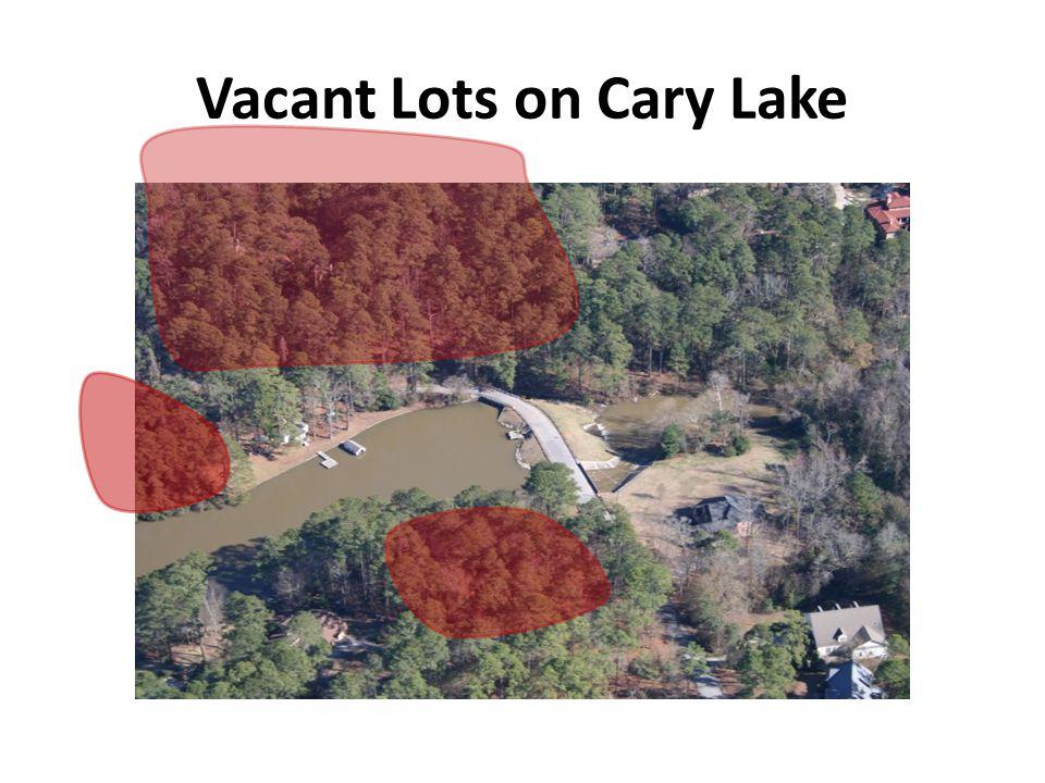 Vacant Lots on Cary Lake
