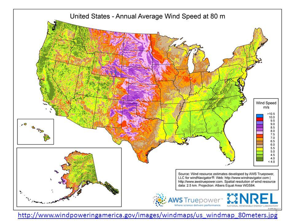3 http://www.windpoweringamerica.gov/images/windmaps/us_windmap_80meters.jpg
